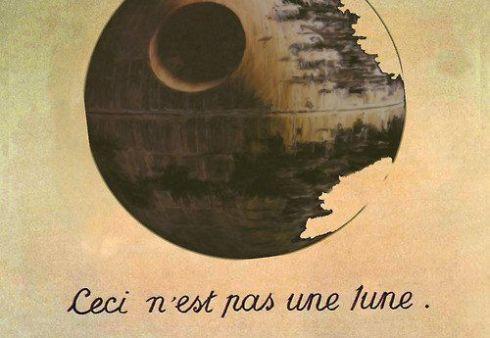 Magritte death star