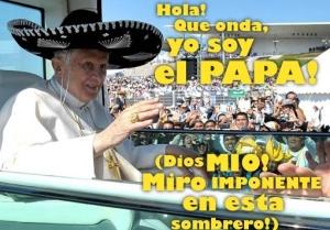 POPE sombrero manip