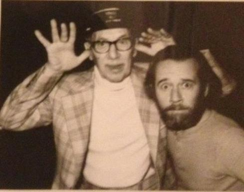 George Carlin and Groucho marx
