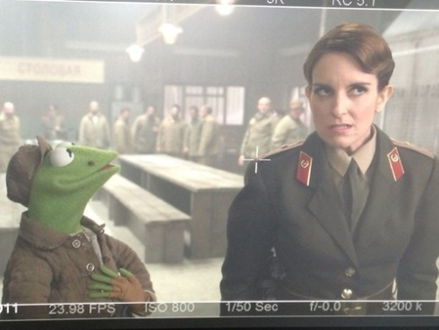 Tina Fey in the Muppets